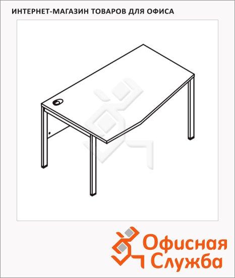 Стол письменный Skyland Xten-M XMCT 149, эргономичный, левый, 1400х900х750мм