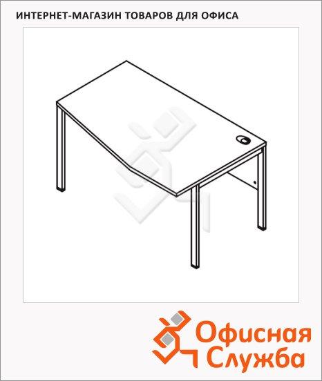 Стол письменный Skyland Xten-M XMCT 149, эргономичный, правый, 1400х900х750мм