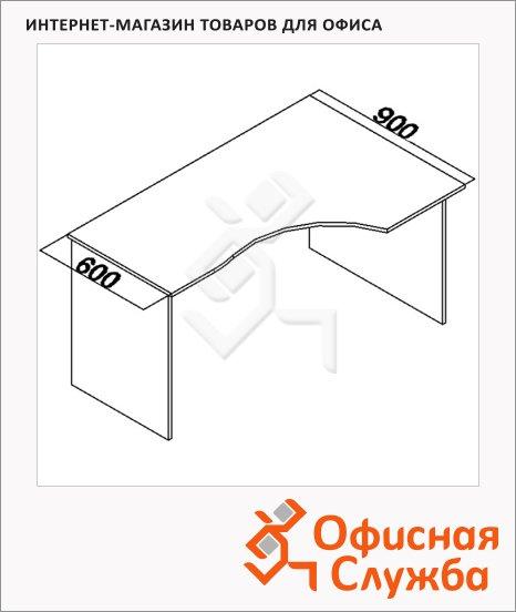 Стол эргономичный Мебель Simple SE-1400(R) правый, 1400х900х760мм
