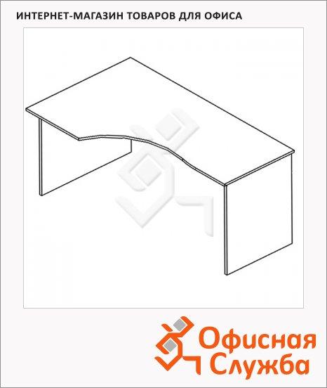 Стол письменный Skyland Simple SE-1600, эргономичный, левый, 1600х900х760мм