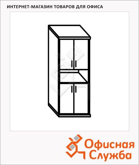 Шкаф Skyland Simple SR-5W.4, 770x375х1815мм, 2 комплектаглухих малых дверей