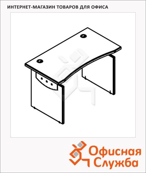 Стол письменный Skyland Offix NEW OST 127, эргономичный, 1200x640x750мм