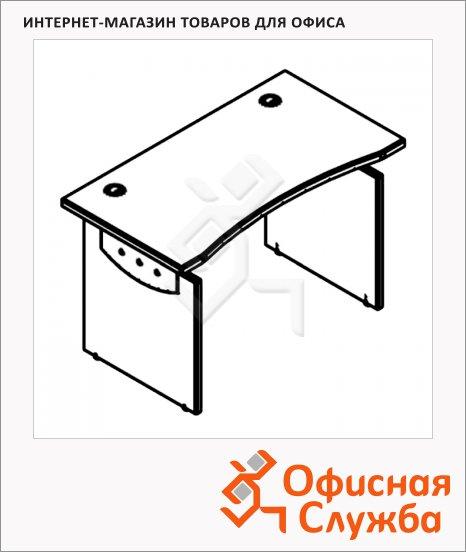 Стол письменный Skyland Offix NEW OST 147, эргономичный, 1400x640x750мм