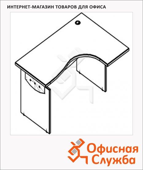 Стол письменный Skyland Offix 1/X06, эргономичный, правый, 1600x1400x760мм