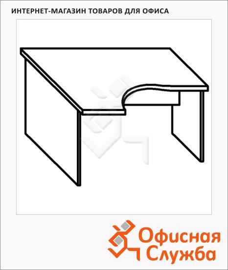 Стол письменный Skyland Imago СА-2, эргономичный, левый, 1400х900х755мм