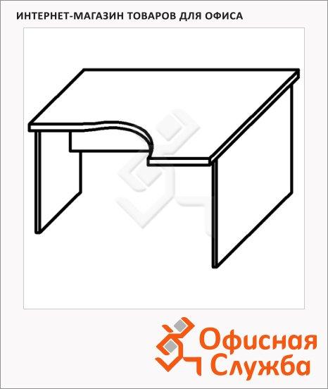 Стол письменный Skyland Imago СА-2, эргономичный, правый
