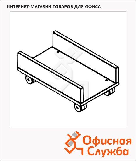 фото: Подставка под системный блок Skyland Offix NEW OSS 500 металлик, 500х300х180мм