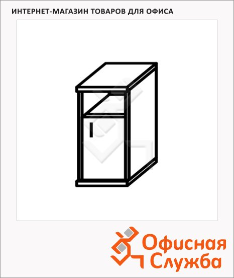 Шкаф-колонка Skyland Imago СУ-2.1, правый, 403х365х1200мм