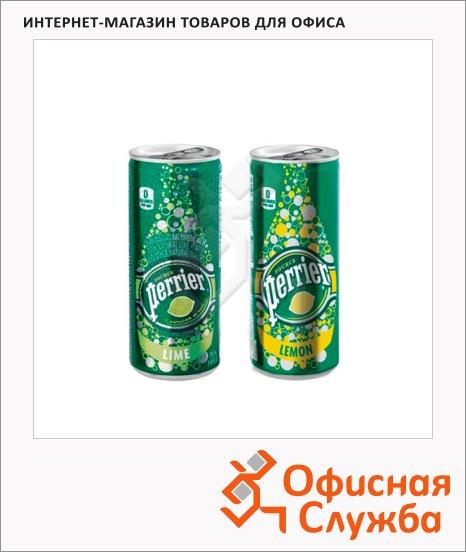 Вода минеральная Perrier ароматизированная газ, ж/б