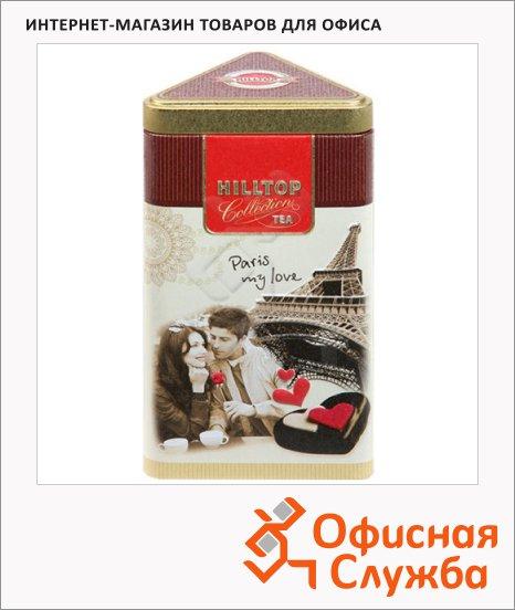 Чай Hilltop Парижские каникулы с чабрецом, черный, листовой, 80г, ж/б
