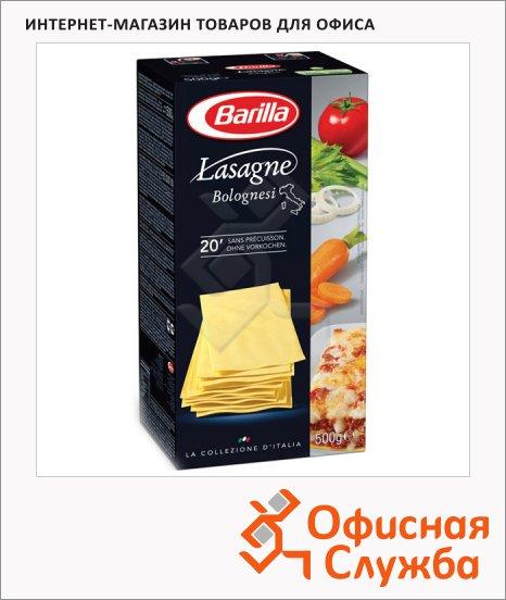 Макаронные изделия Barilla Lasagne, 500г
