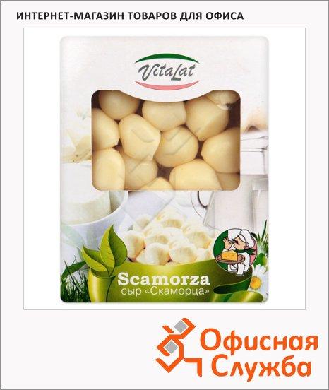 фото: Сыр порционный Vitalat Скаморца 40% 130г