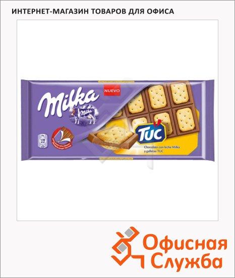 фото: Шоколад Tuc сэндвич молочный, 87г
