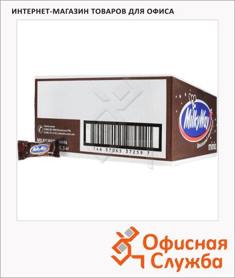 фото: Батончик шоколадный Milky Way Minis шоколадный коктейль 2.5кг