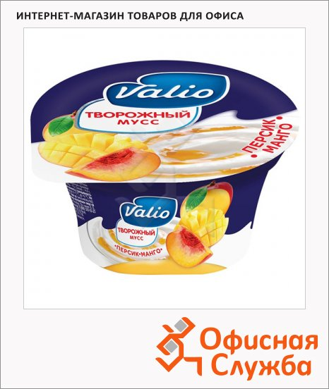 Продукт творожный Valio, 4%, 110г