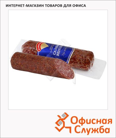 фото: Колбаса Клинский салями Венская сырокопченая 300г