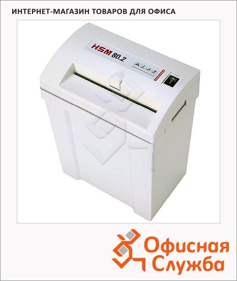 Персональный шредер Hsm 80.2-5.8, 12 листов, 17 литров, 2 уровень секретности