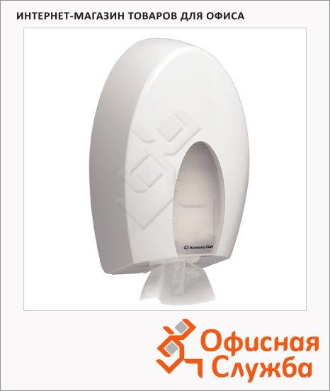 Диспенсер для туалетной бумаги листовой Kimberly-Clark Aqua 6975, белый
