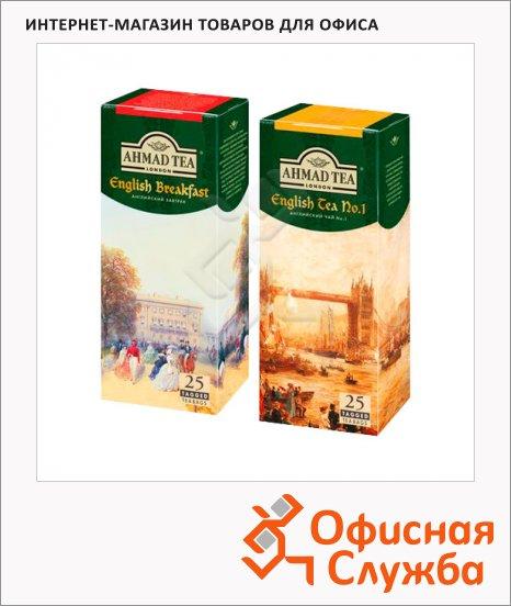 Чай Ahmad, черный, 25 пакетиков