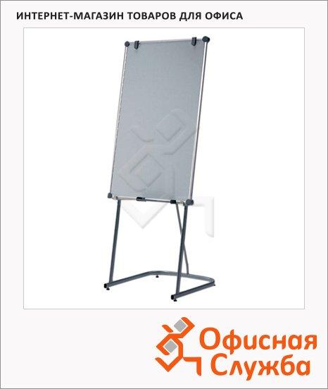 Флипчарт магнитный маркерный Hebel UniFlip 37101/6371084 75х120см, белый, на подставке