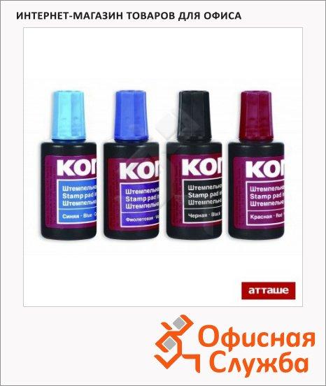 Штемпельная краска на водно-масляной основе Kores 30 мл