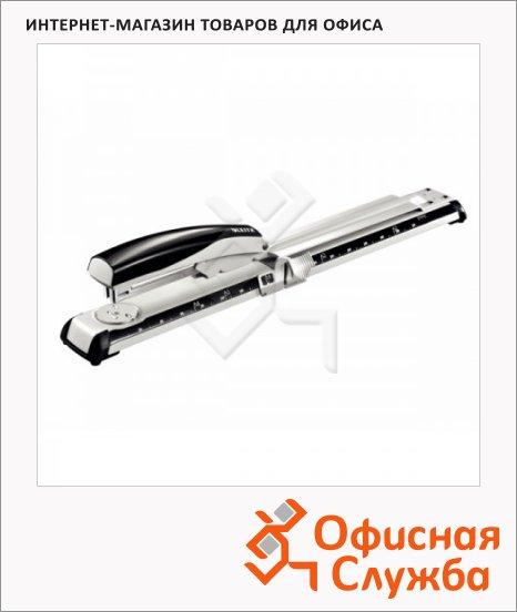 фото: Степлер-брошюровщик Leitz №24/8 26/8, 40 л, серебристый, со шкалой, L5560