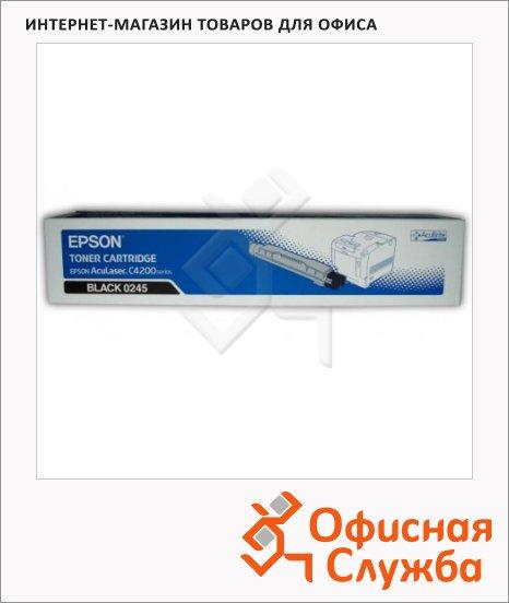Тонер-картридж Epson C13S050245, черный