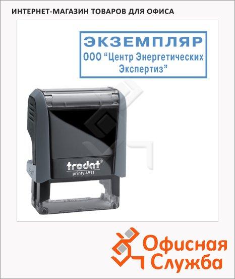 Оснастка для прямоугольной печати Trodat Printy 38х14мм, 4911