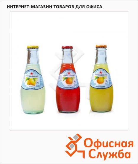 Напиток газированный Sanpellegrino Limonata, 0.2л, стекло