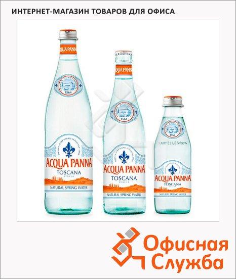 Вода минеральная Acqua Panna без газа, стекло