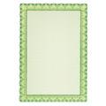 Сертификат-бумага Decadry зеленая волна, А4, 115г/м2