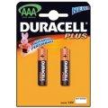 LR03/MN2400 DURACELL AAA/AAA Plus Батарейка алкалиновая ААА, 2шт