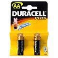 LR6/MN1500 DURACELL AA/AA Plus Батарейка алкалиновая АА, 2шт