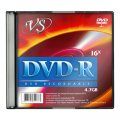 Носители информации DVD-R VS 4,7 GB 16x SL/5
