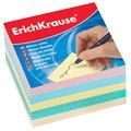 Блок для записей непроклеенный Erich Krause 5 цветов, 90х90мм