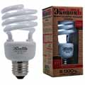 Лампа энергосберегающая Старт Экономь, E27, теплый белый