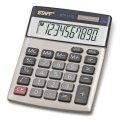 Калькулятор Staff настольный металлический STF-1110, 10 разрядов, двойное питание, 140х105мм