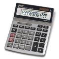 Калькулятор STAFF настольный металлический STF-1714, 14 разрядов, двойное питание, 200х152мм