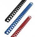 Пружины для переплета пластиковые GBC черные 22 мм, 100 шт/уп