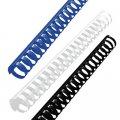 Пружины для переплета пластиковые GBC черные 25 мм, 50 шт/уп