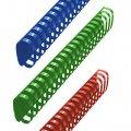 Пружины для переплета пластиковые Office Kit, на 420-500 листов, овал, 51мм, 50шт