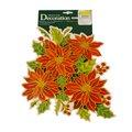 Наклейка на окно Decor Trading Company Limited Цветы, 40х28см, 352701