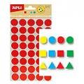 Этикетки геометрические фигуры Apli, 468шт