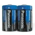 Батарейка Panasonic D/R20, 1.5В, алкалиновые, 2шт/уп