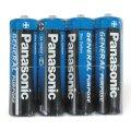 Батарейка Panasonic AA/R6, 1.5В, солевая, 4шт/уп