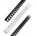 Пружины пласт. д/переплета FELLOWES набор 100шт, 19мм (для сшивания 121-150л) белые, FS-53474