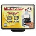 Сменная подушка прямоугольная Grm для Trodat 5485/5480, синяя-красная, 2 шт/уп