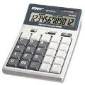 Калькулятор STAFF настольный STF-3112, 12 разрядов, двойное питание, 175х107мм