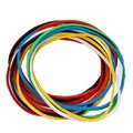 Резинки для денег BRAUBERG (натур. каучук!) цветные, 200 г, 360шт. + 5%, 440037