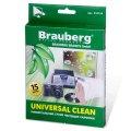 "Чистящие салфетки BRAUBERG ""Universal Clean"" 15шт.510124"
